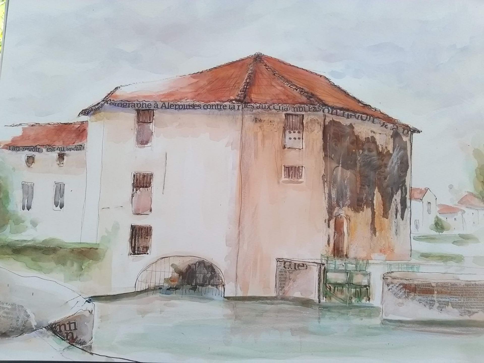 Nerac ,le moulin